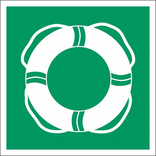 Schild Öffentliche Rettungsausrüstung