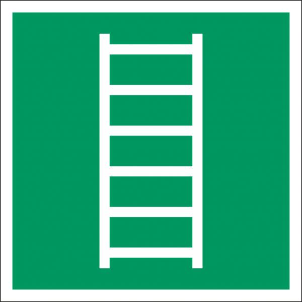 Schild Fluchtleiter