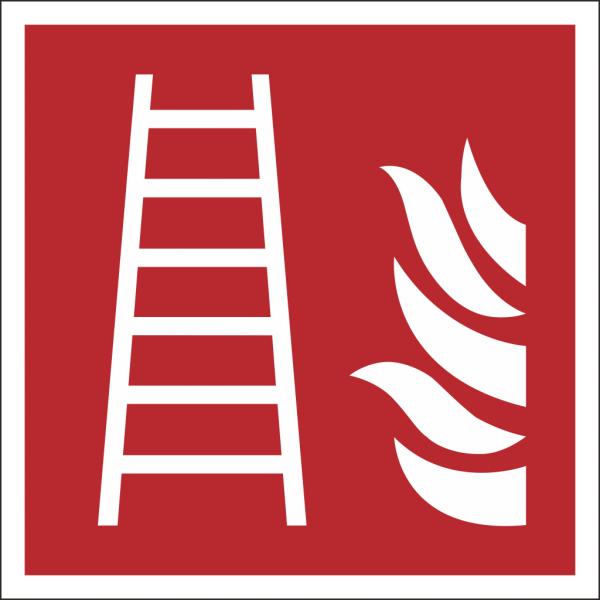 Schild Feuerleiter